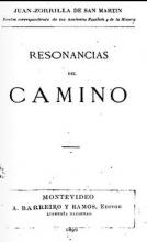 Portada de Resonancias del camino
